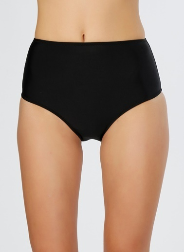 Limon Company Yüksek Bel Bikini Altı Siyah